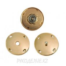 Кнопка пришивная металлическая MS K-44