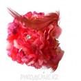 Брошь Цветок Гвоздика d-90мм 18 - Малиновый