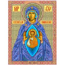 Рисунок на холсте В родах помощница 28*34см Матрёнин Посад