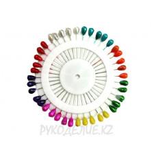 Булавки для закалывания на диске (40мм) 40шт Angelica Fashion