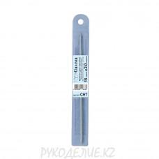 Крючок для вязания металлический СНТ 15см в чехле Гамма