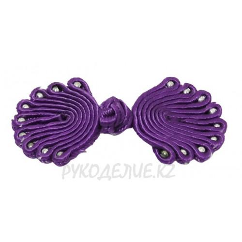 Клевант-застежка текстильная Has-Er (Фиолетовый)