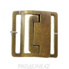 Пряжка камзольная металлическая 50мм MB 057