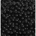 Бусины жемчуг пластиковые (10гр) 4мм - 4 - Чёрный