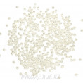 Бусины Жемчуг пластик 3мм (10гр) 06 - Молочный