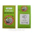 Иглы для промышленных швейных машин 97кл DB-1 №110 Organ needles №110, Зеленый