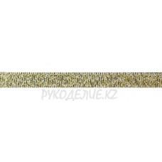 Парча золото-серебро 6мм