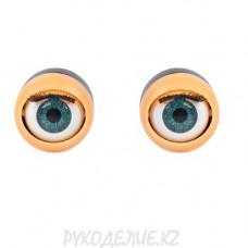 Глаз с ресничками моргающий 18мм