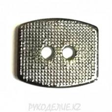 Пуговица металлоимитация TA8836 (20L, Темно-никелированный)