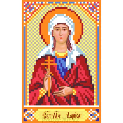 Рисунок на шелке Святая Лариса 22*25см Матрёнин Посад