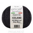 Пряжа Iceland Etrofil 91191 - Черный