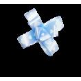 Бант-бабочка №1,8 2 - Голубой