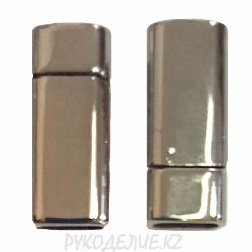 Застежка (замок)для бус магнитная Прямоугольник 10*25мм