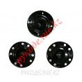 Кнопка пришивная металлическая MS K-01 16мм, 9 - Black (Черный)