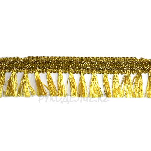 Бахрома золото-серебро 4,5см