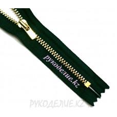 Молния джинсовая N3 (20см, Золото глянец) YKK
