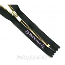 Молния джинсовая золото №3 YKK матовая 20 см