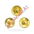 Кнопка пришивная KOH-I-NOOR (13мм) 3 - Золотой
