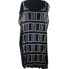 Полуфабрикат для платья 94255 SLV