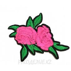Термоаппликация 2 Розы 7,5*6см