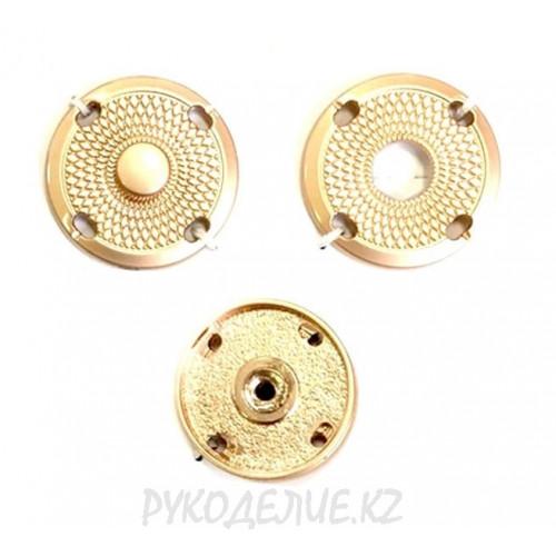 Кнопка пришивная металлическая MS K-88