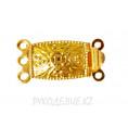 Застежка для бус (на 3 нитки) Angelica Fashion 01 - Золотой