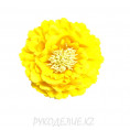 Брошь Цветок пион d=120мм 24 - Ярко-жёлтый