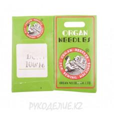Иглы для промышленных швейных машин на оверлок DC-1 №110 Organ needles