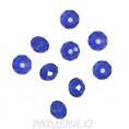 Бусины стекло граненое 6мм 09 - Синий