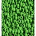 Бисер непрозрачный глянцевый 10/0 Preciosa 53230 - Светло-зелёный