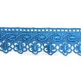 Кружево гипюр 4,5см 60 - Бирюзово-голубой