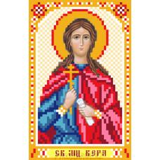 Рисунок на шелке Святая Вера 22*25см Матрёнин Посад