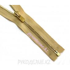 Молния металл разъемная №3 (80см, Золото глянец) YKK