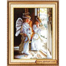 Набор для вышивания крестом Ангелы 400*530мм Абрис АРТ