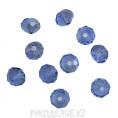 Бусины стекло граненое 8мм 20-2 - Сиренево-голубой AG