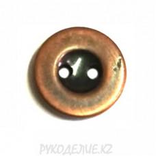 Пуговица металлоимитация TA8832 (18L, Медный)