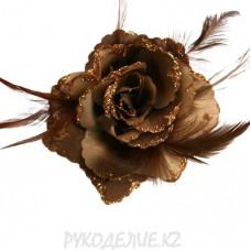 Брошь Цветок d-110мм