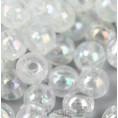Бусины жемчуг пластиковые 12мм 05 - Прозрачный АВ