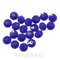 Бусины стекло граненое OPAL 8мм 21 - Фиолетовый