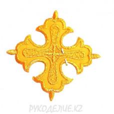 Термоаппликация Крест 6*6см