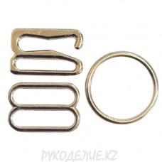 Набор фурнитуры для нижнего белья металл 12мм