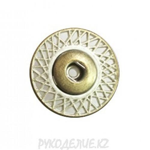 Кнопка пришивная металлическая MS K-47