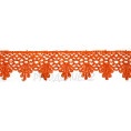 Кружево гипюр 4см SO10153A 154 - Оранжевый