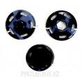 Кнопка пришивная пластиковая MS K-87 22мм, Navy (Темно-синий)