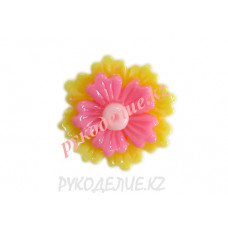 Клеевая фигурка цветок 17мм