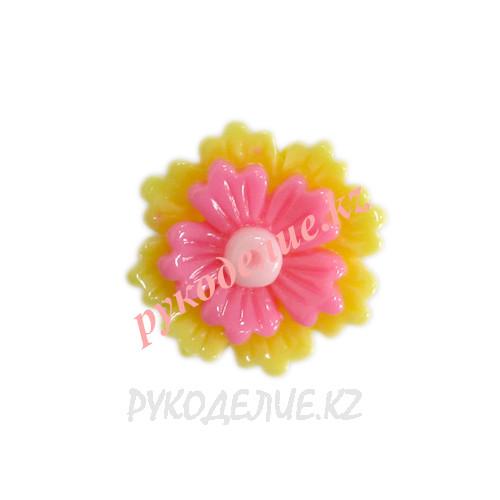 Клеевая фигурка цветок