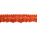 Кружево гипюр 3см SO11569 154 - Оранжевый