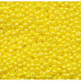 Бисер жемчужный непрозрачный 10/0 Preciosa 88110 - Ярко-жёлтый