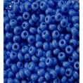 Бисер непрозрачный глянцевый 10/0 Preciosa 33040 - Сиренево-синий