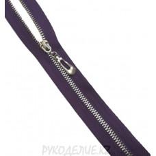 Молния металл N3 неразъемная никель 70см Angelica Fashion